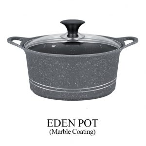 Eden Pot Marble Coated